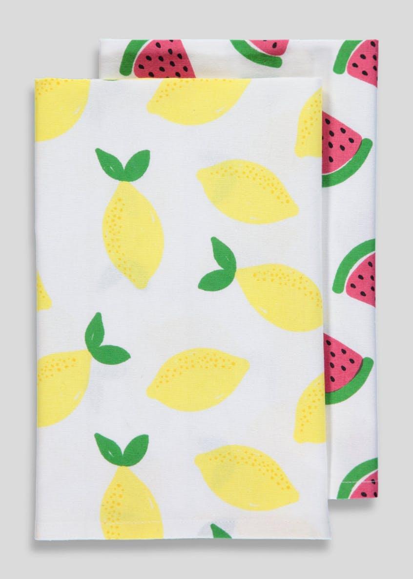 Fruit Tea Towels - £4.00 from Matalan