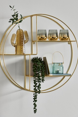 Gold Shadow Box - £38.00 from Next