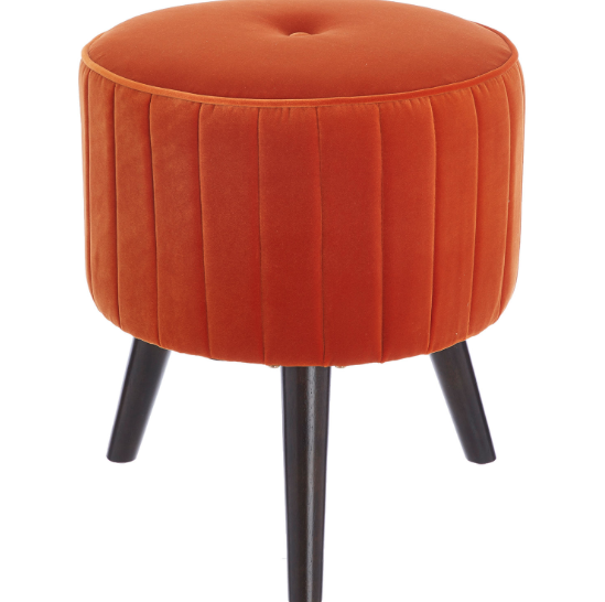 Orange Footstool - £49.99 from TK Maxx