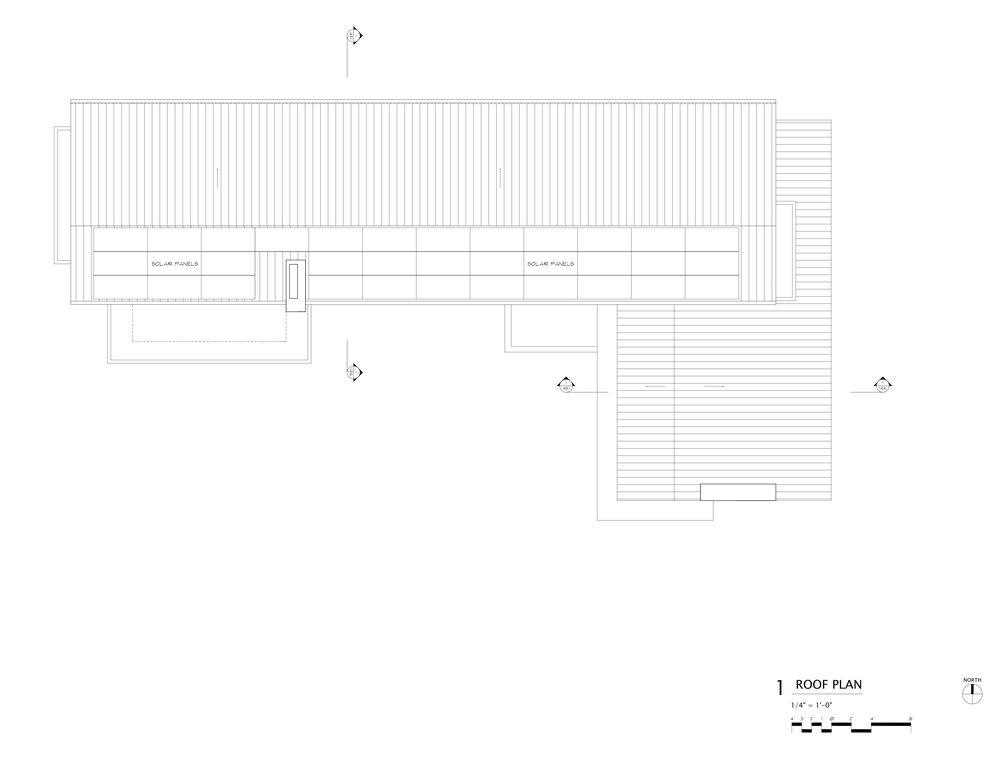 Roof Plan.