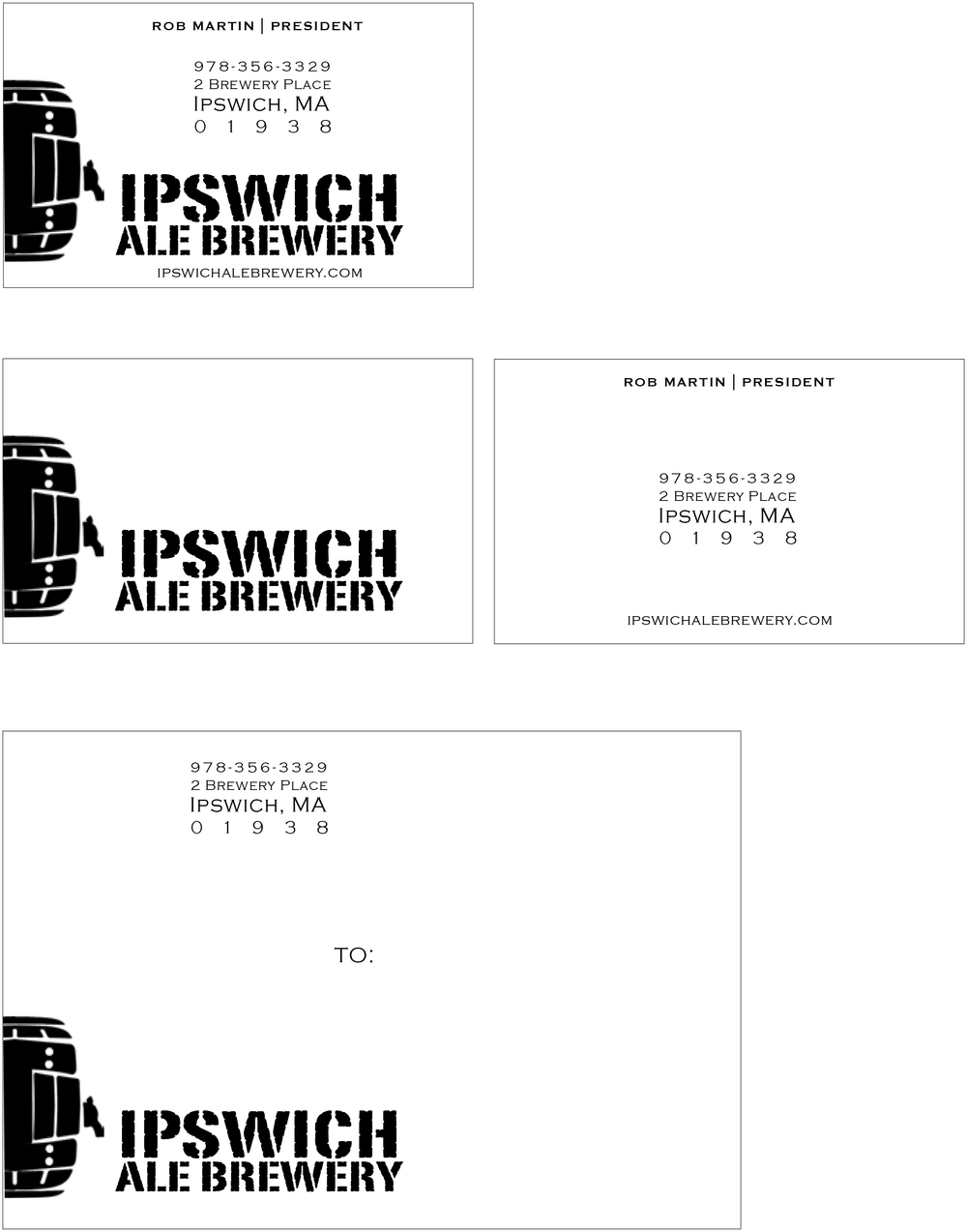 Business Card and Mailing Label