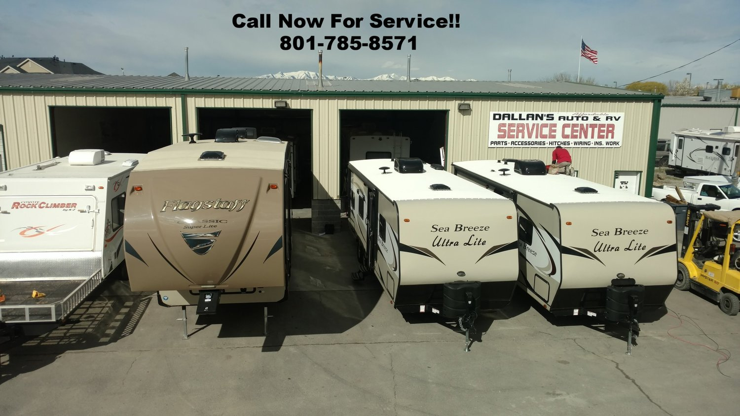 Rv Service Repair Dallans Affordable Auto And Our Camper Trailer Wiring