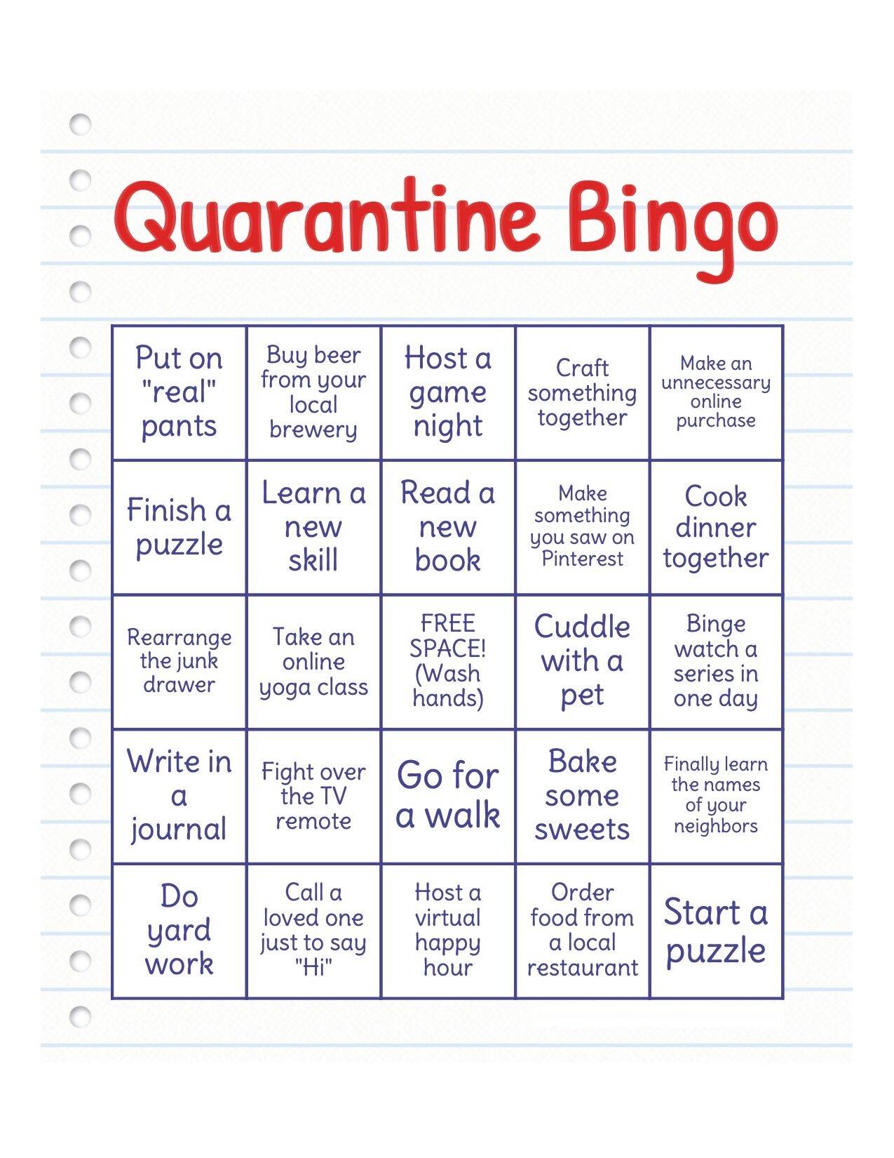 Forbidden Bingo