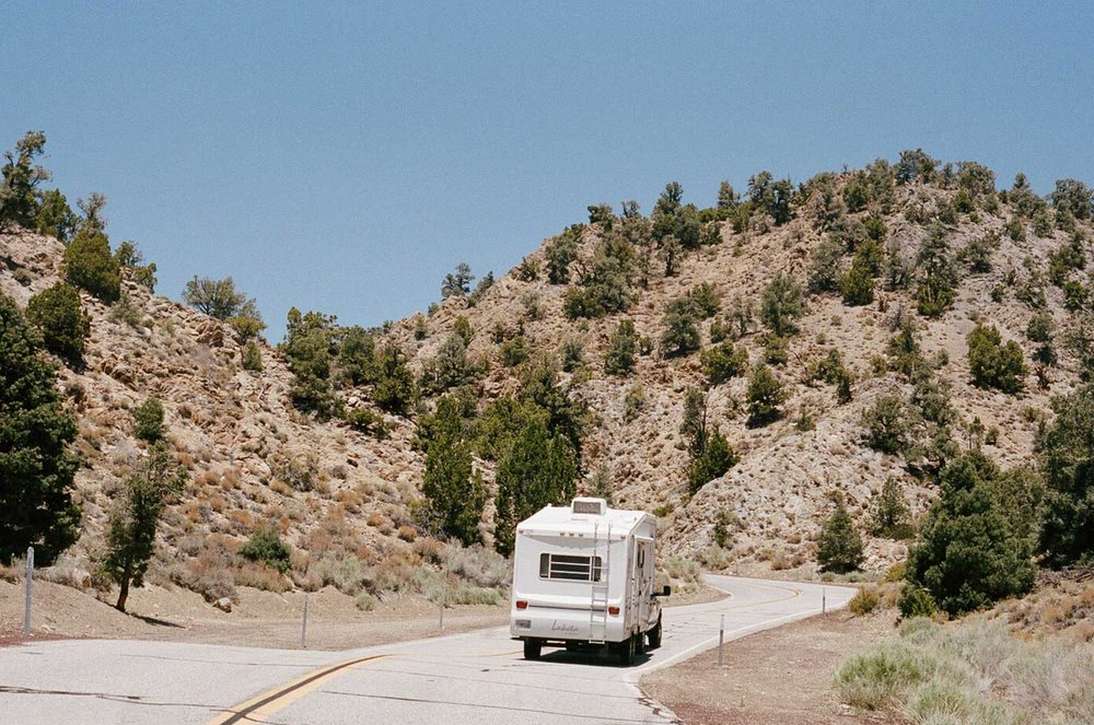 CA 168   through the Inyo National Forest