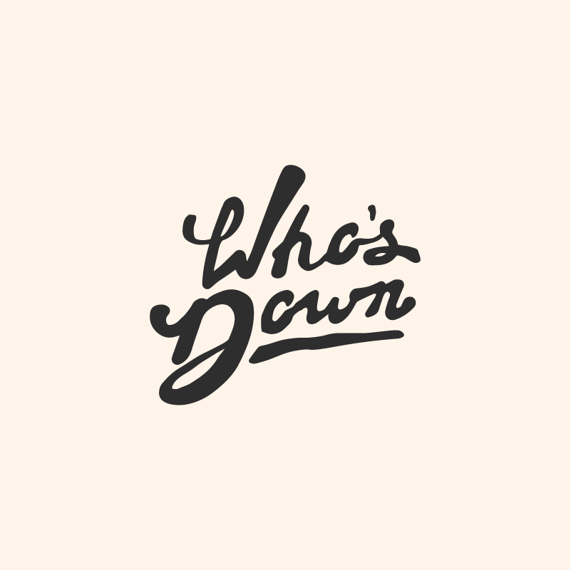 Who's Down app logo