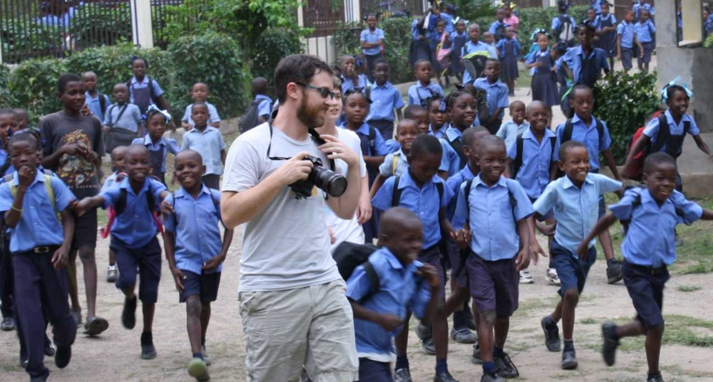 brett in haiti