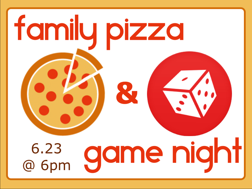Bring the family to BrookRidge for a night out with pizza and games! It's going to be a great time! Hope to see you there!