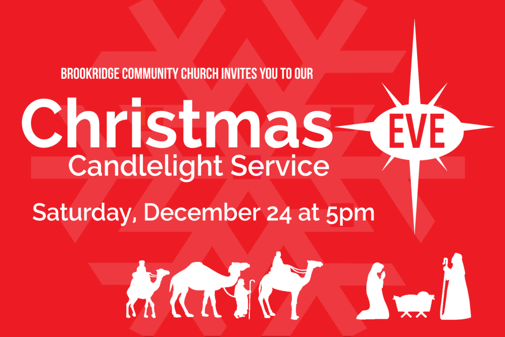 Join us for a candlelight service for the whole family!