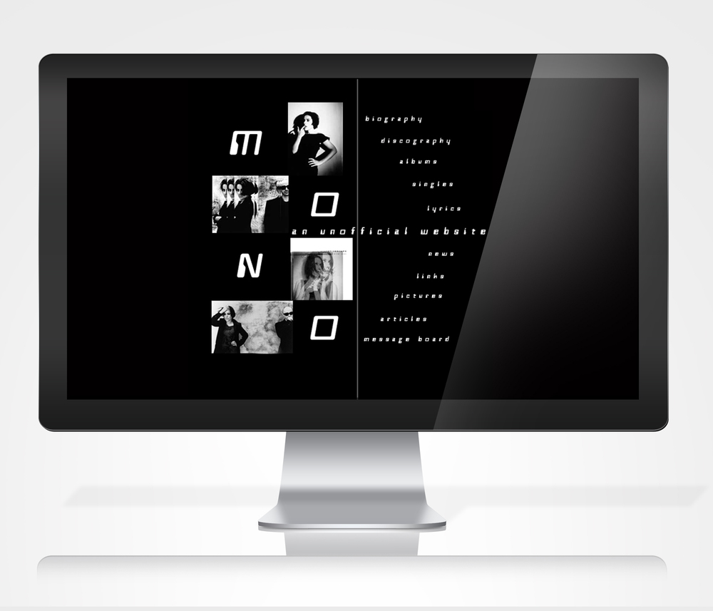 Mono Band Website