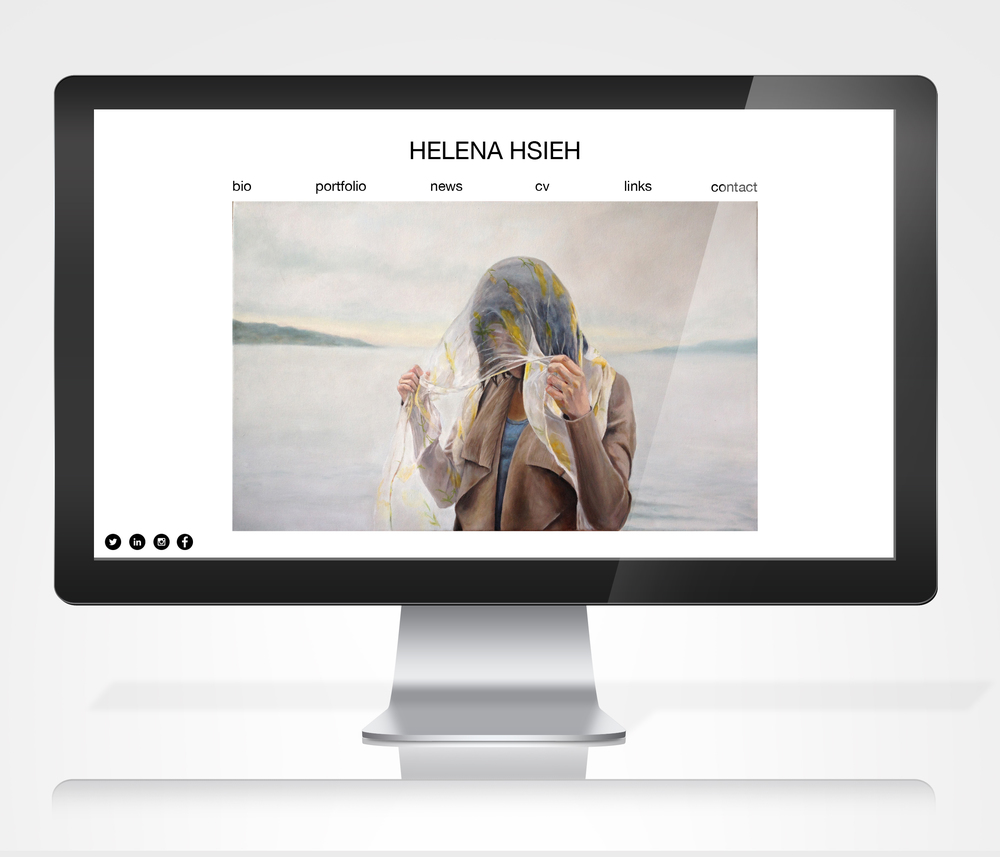 Artist Website Redesign