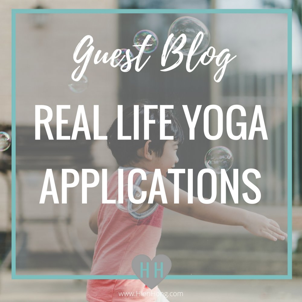 So I realize that my yoga and blog isn't necessarily kid-centered, but I love Sandi's explanations on how yoga can have real life applications. Making yoga applicable is something I advocate, so while this article is about the benefits of yoga for kids, I think it's can be for anyone who is interested in the power of yoga. ~Hien
