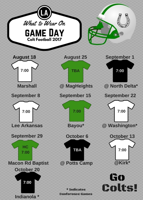 2017 Colt Football - What to Wear.jpg