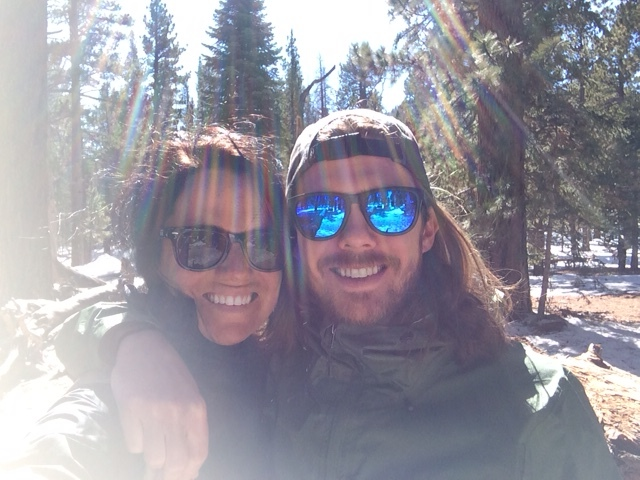 All the elements on top of Mount Jacinto. The most important one: LOVE!