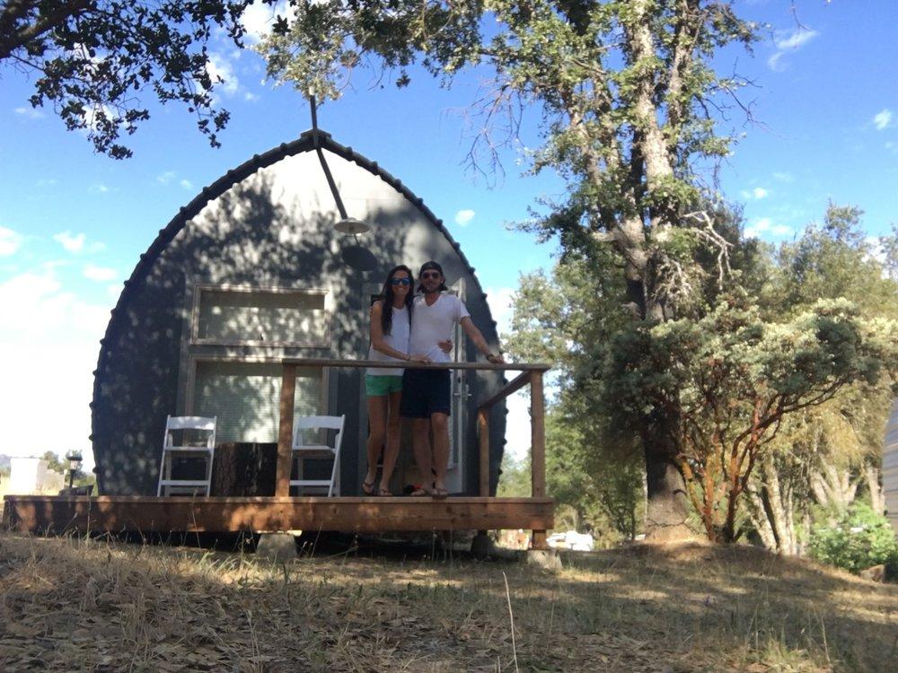 Yosemite Micro Cabin #13 in Ahwahnee, California
