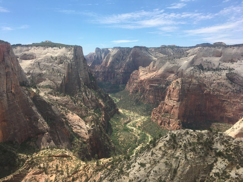 Zion National Park from Observation Point