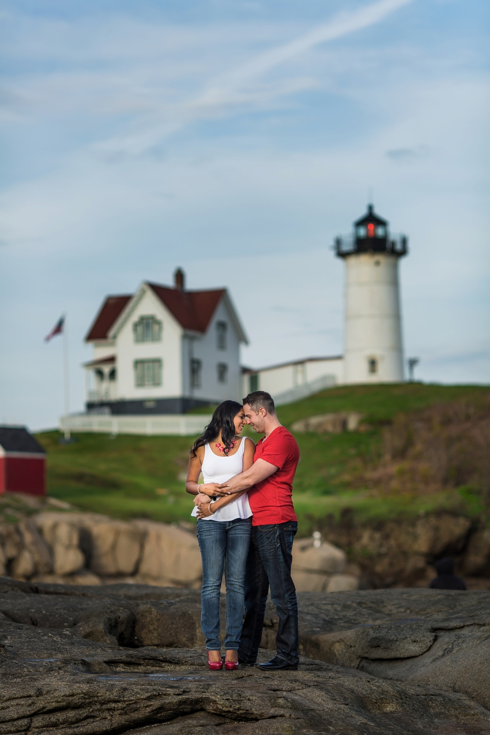 Nubble Light Engagement York Maine Chantal Mike-002.jpg