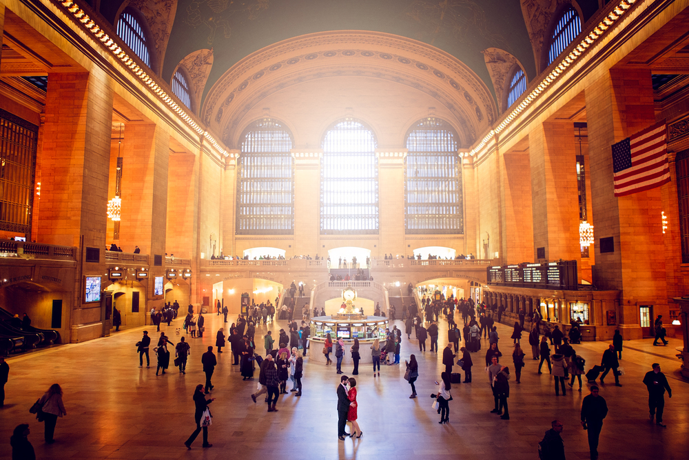 Grand Central Station Engagment
