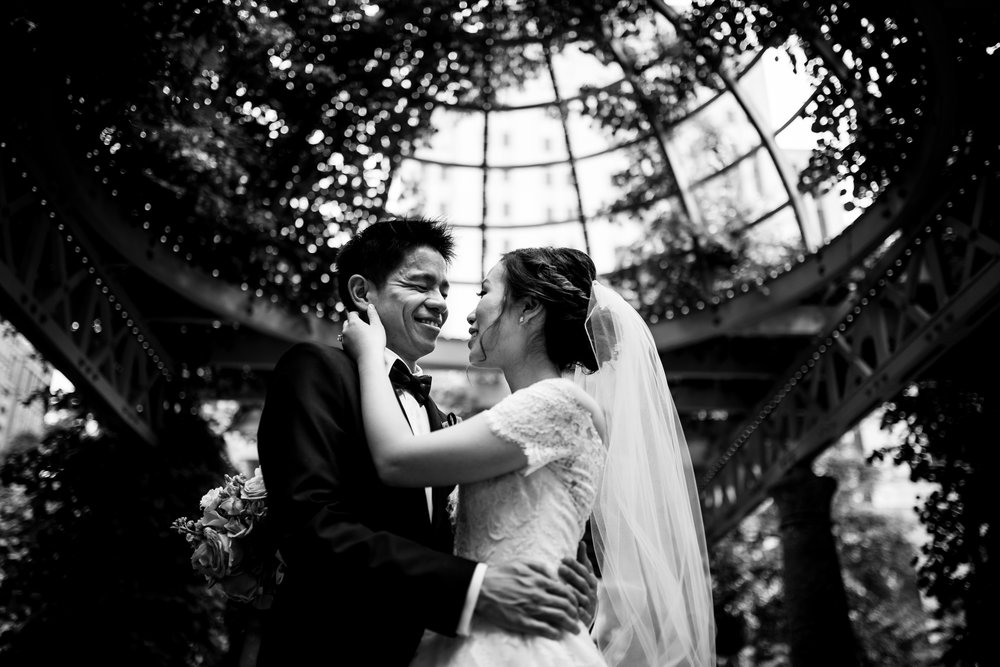 "Rebecca & Jimmy - ""They captured the spirit of the day and had a great creative touch to them. Redwood and Rye captured so many special moments that we will treasure forever. The creativity and originality that is infused into their photographs is outstanding, and it is so refreshing to be able to see our wedding from many different ""views."" Gary and his team have a sharp eye for getting photographs that will tell the story. We will definitely recommend Redwood and Rye to our friends who are looking for a spectacular, creative photographer for their event!"""