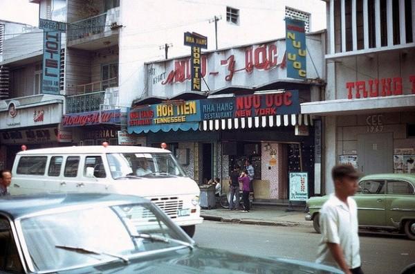 Quán bar khá nổi thời Sài Gòn xưa: Nữu Ước, nằm trên đường Hai Bà Trưng.
