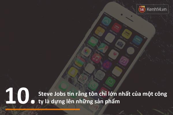 Nh�n d?p sinh nh?t Steve Jobs, c�ng xem 10 ?i?u ?�ng ng?c nhi�n t? �ng