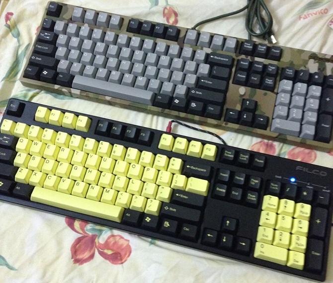 Chợ đồ cũ mang đến nhiều lựa chọn bàn phím và keycap. Nguồn ảnh: Facebook Chợ Gaming Gear