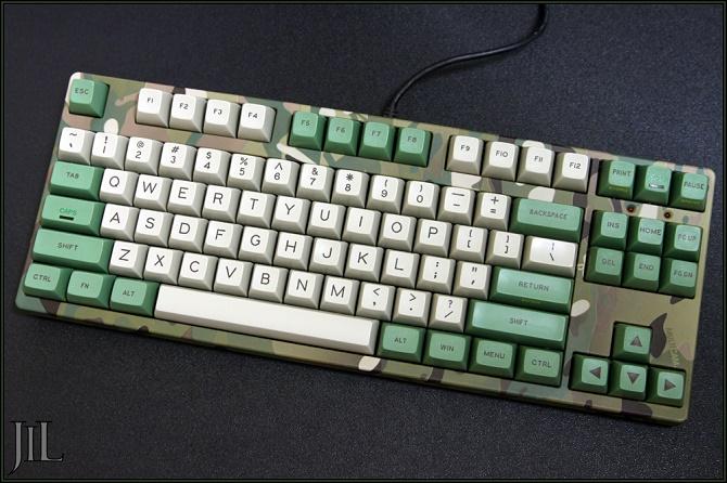 Bộ keycap trong hình có giá ngang bằng bàn phím