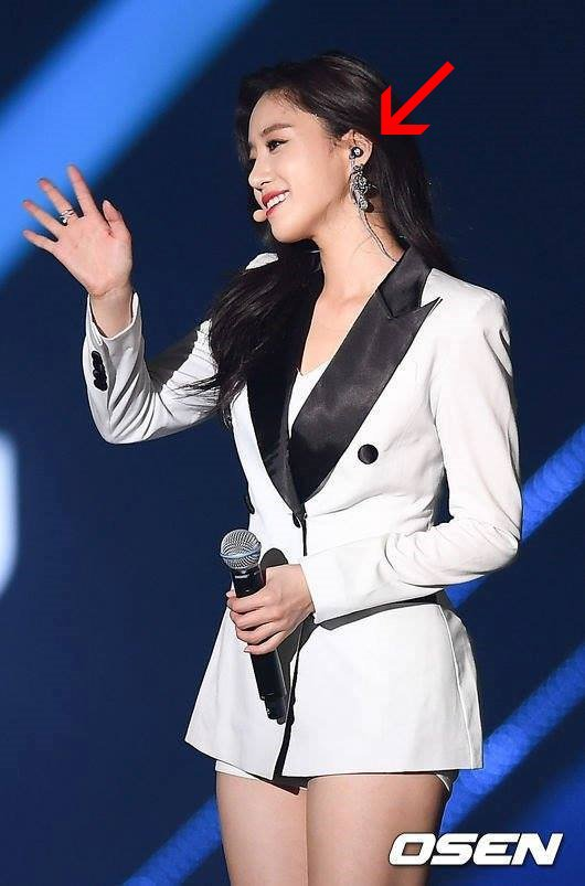 hần tượng Eunjung sử dụng tai nghe Việt