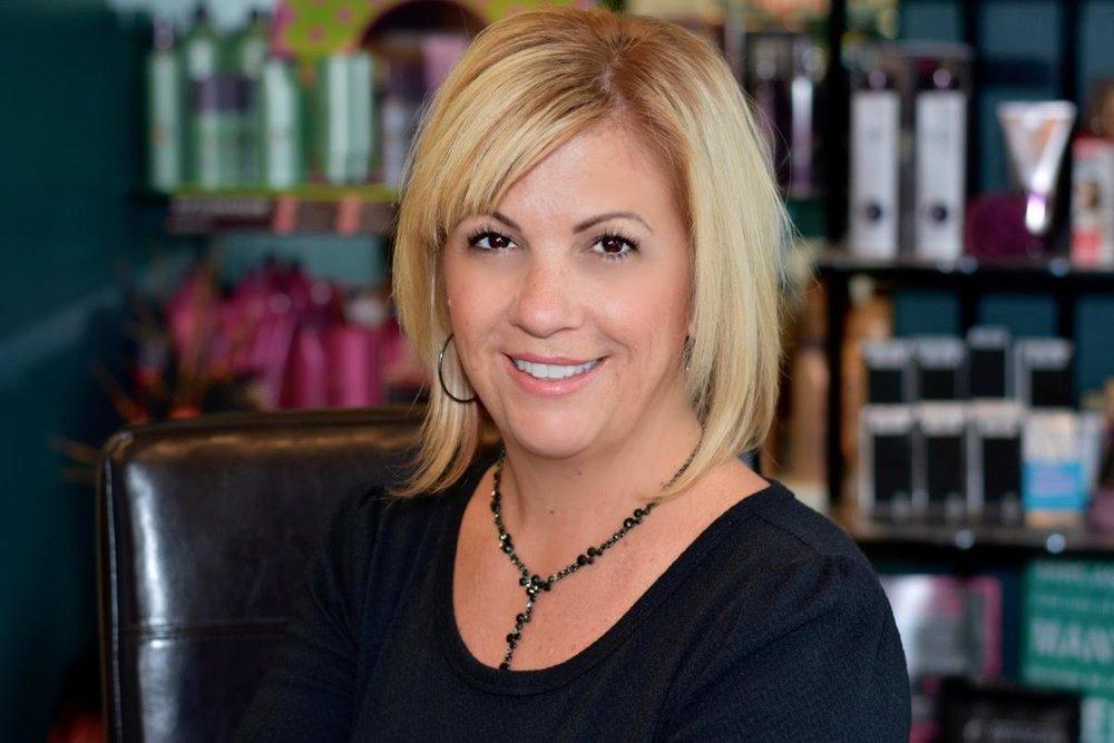 Carolyn Mullins,  Owner & Hair Stylist