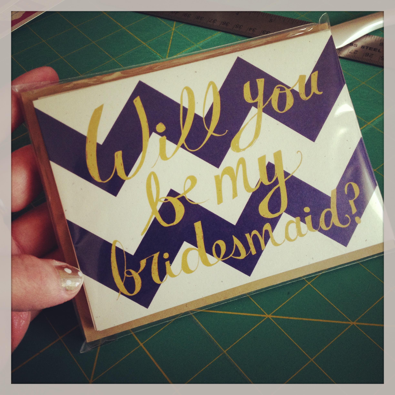 bridesmaidcard