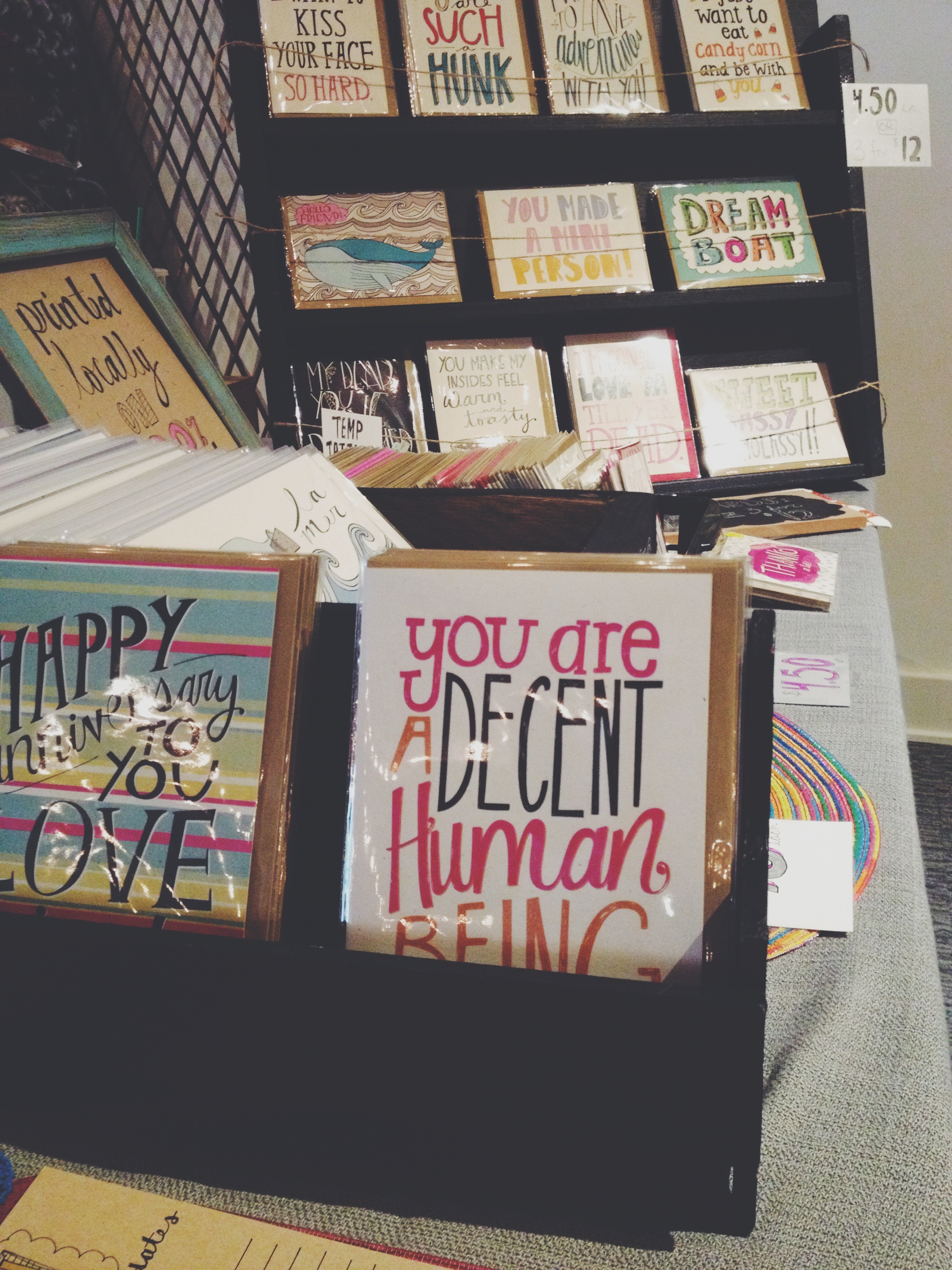 Katie Vaz Design | You are a decent human being
