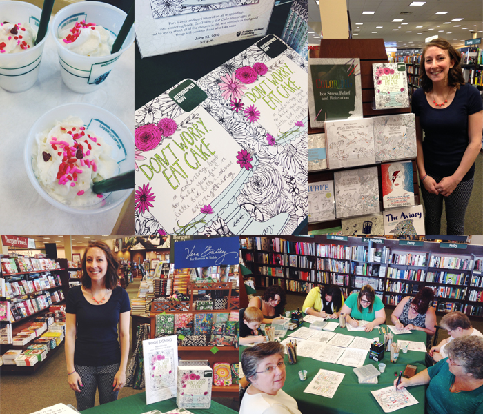 Don't Worry, Eat Cake event at Barnes & Noble