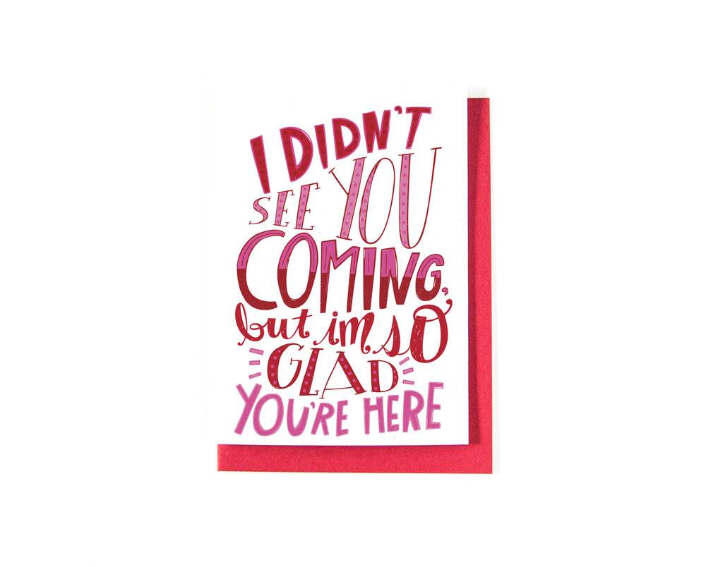 Hand Drawn Lettering | Valentine's Day Card