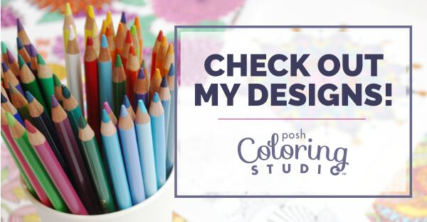 Katie Vaz Posh Coloring Studio Artist