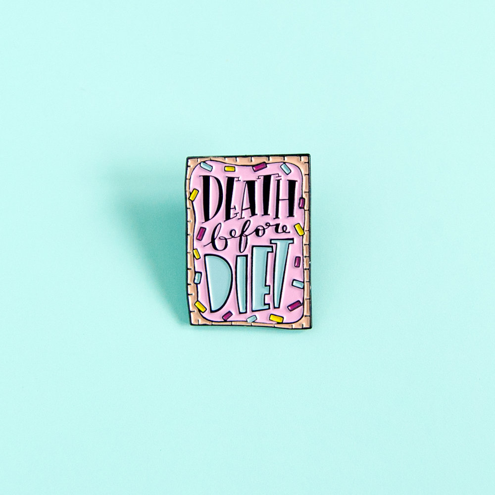 Food Enamel Pin