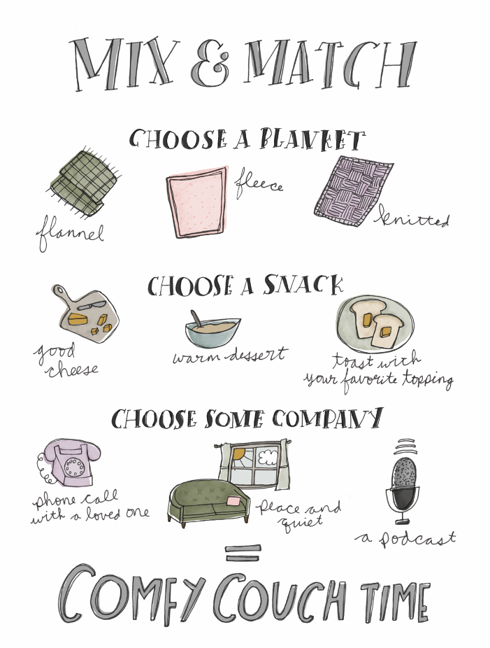 Make Yourself Cozy | Self-care guide