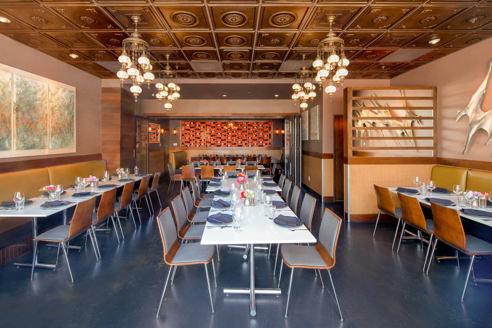 Private Dining - Up to 70 people.