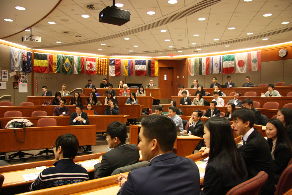 Audience at the 2016 Harvard Asia Business Conference.