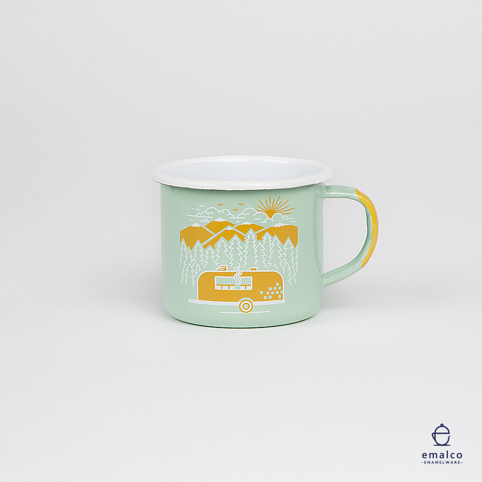 Honeybee Coffee - Mug - 8 cm - Pea - 04.jpg