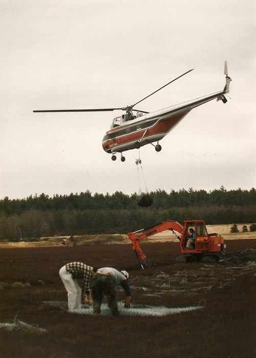 1986 | Flying off the mud | The mud was placed on mats
