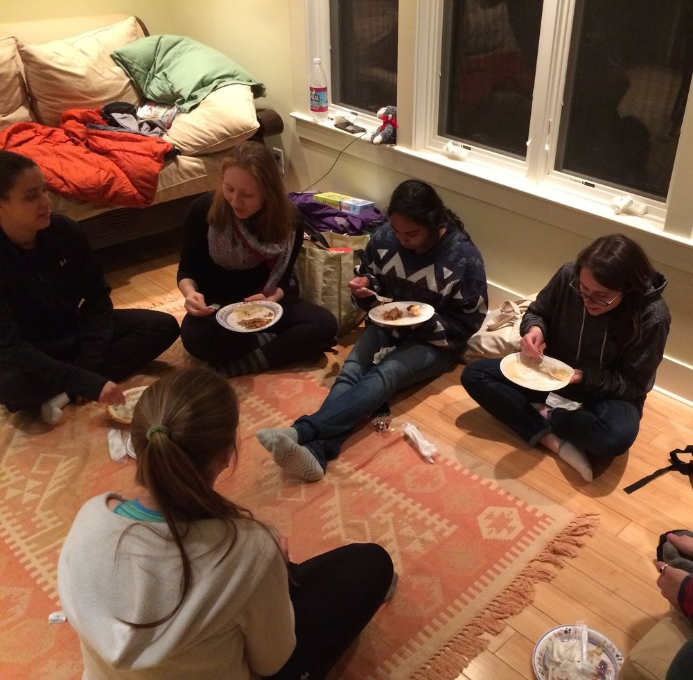 April 17, 2015 | Mt Holyoke class spends the night