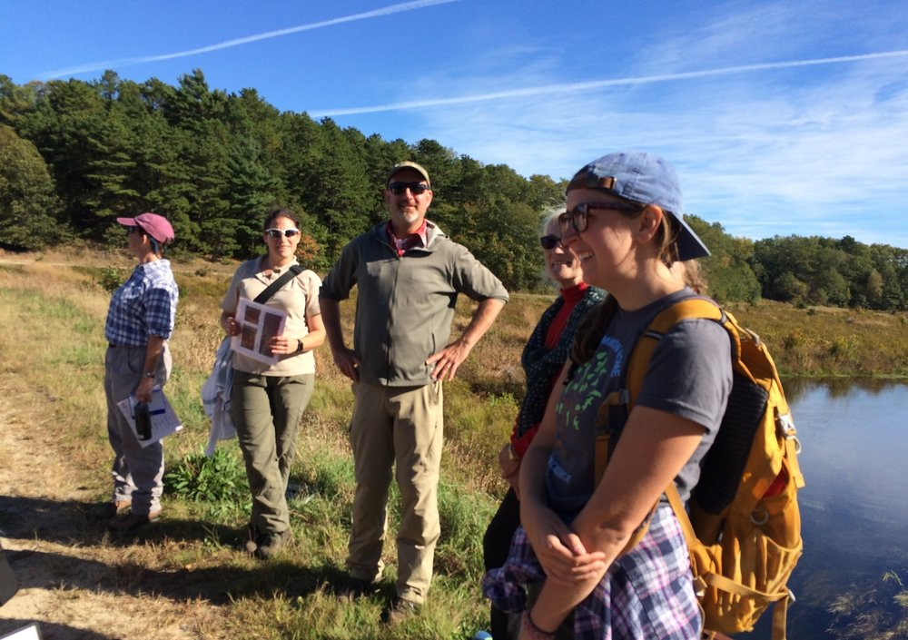 October 7, 2015 | Geological Society visits Restoration site