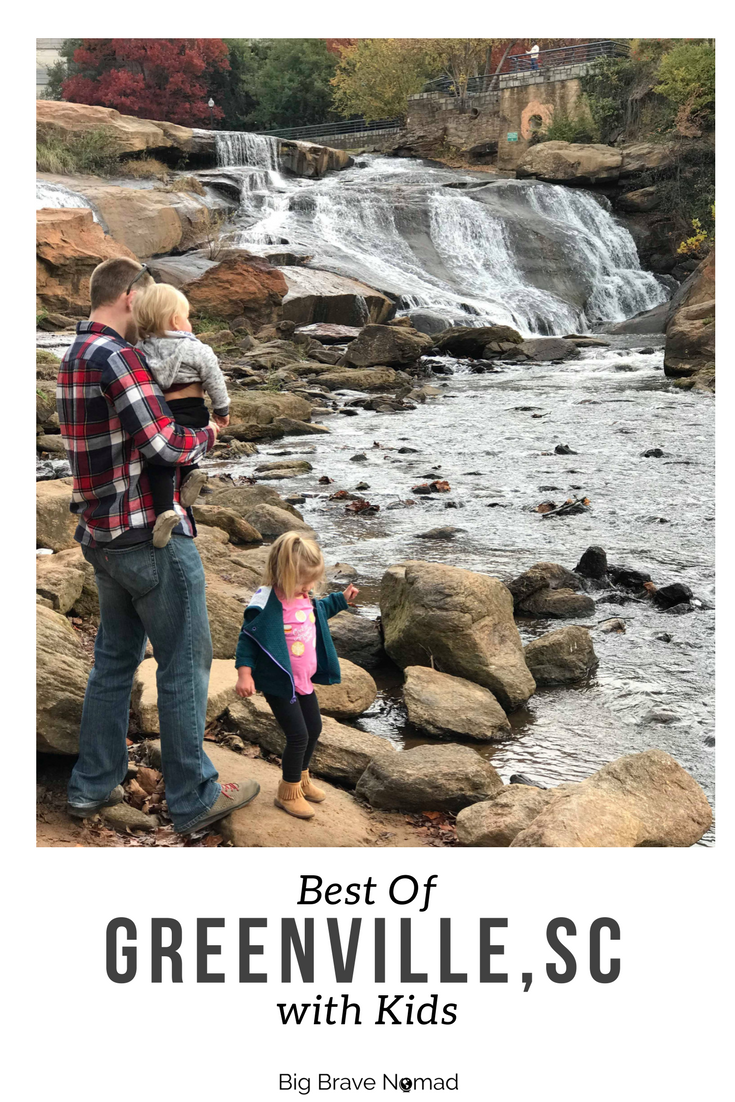 Greenville South Carolina with Kids (Pinterest Image)