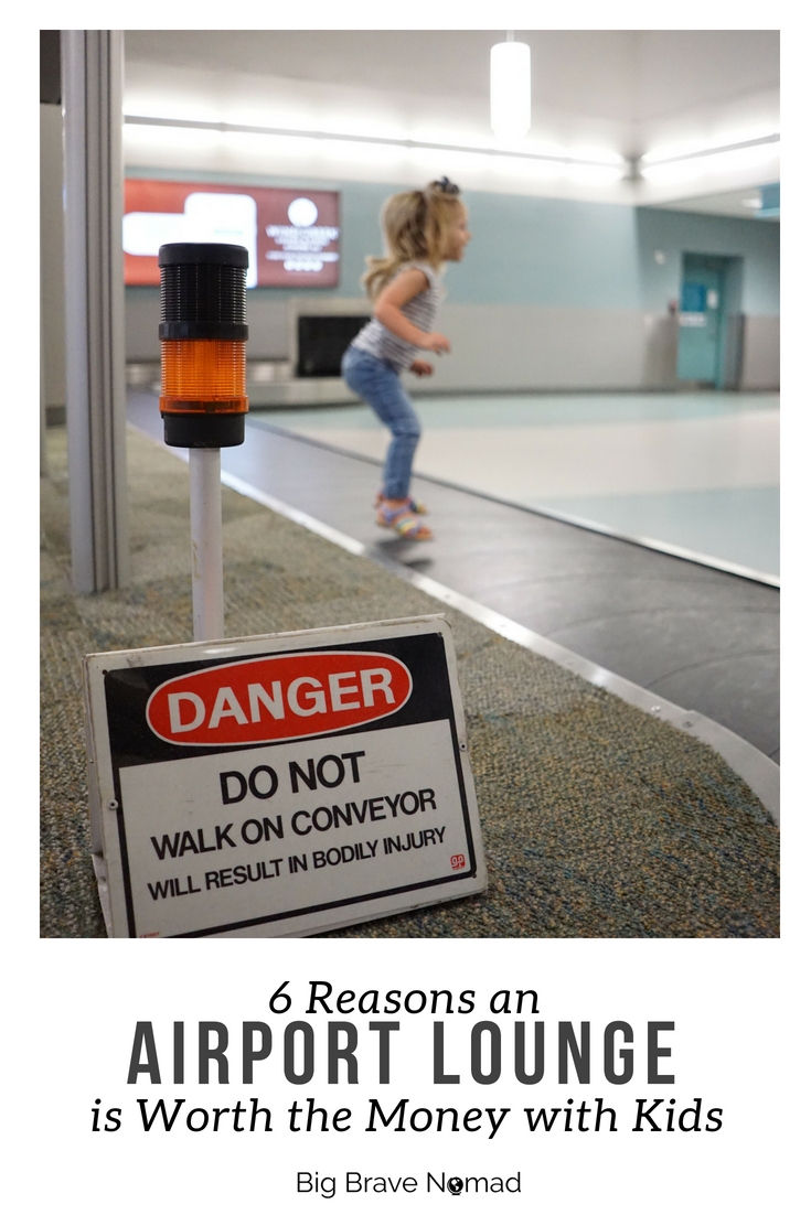 Why an Airport Lounge is Worth the Money with Kids #bigbravenomad #familytravel