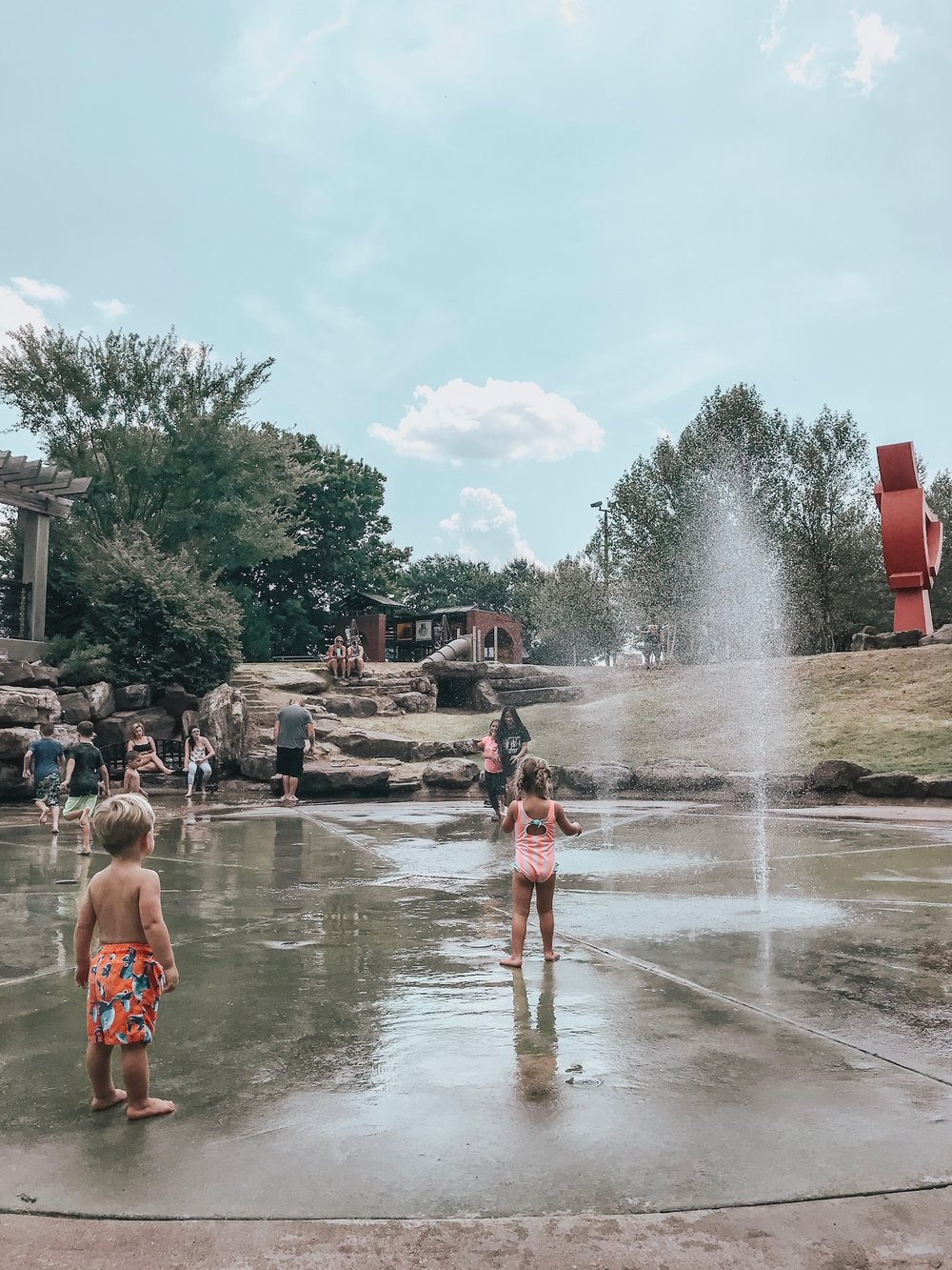 The amazing Peabody splashpad