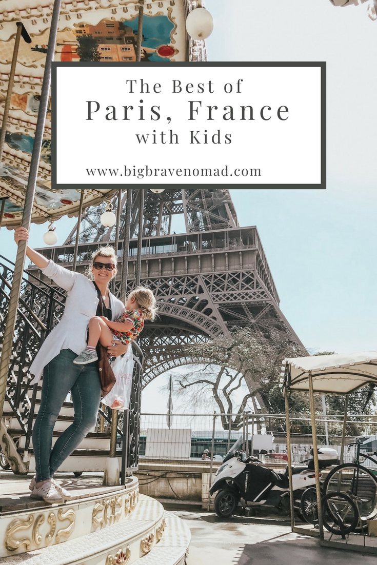 Paris is a must visit for families of all ages. There is something for babies, toddlers, big kids, teenagers and adults. From the historic sites to delicious food and drink to vast gardens and playgrounds; paris will not DISAPPOINT. #bigbravenomad #familytravel #pariswithkids