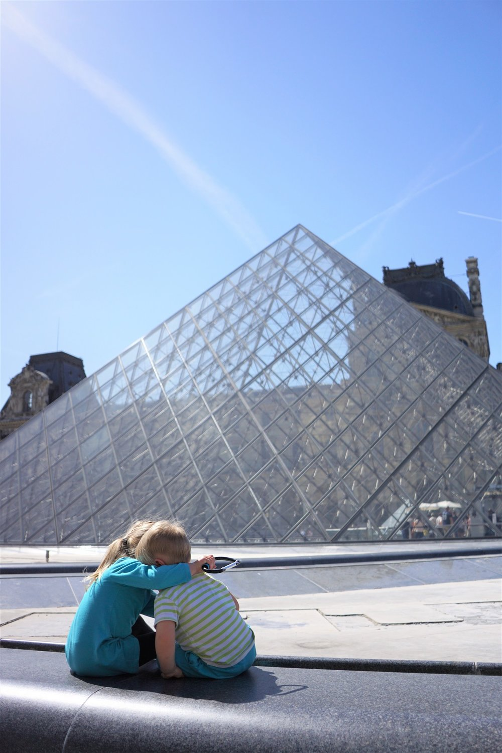 The Babies at the Louvre