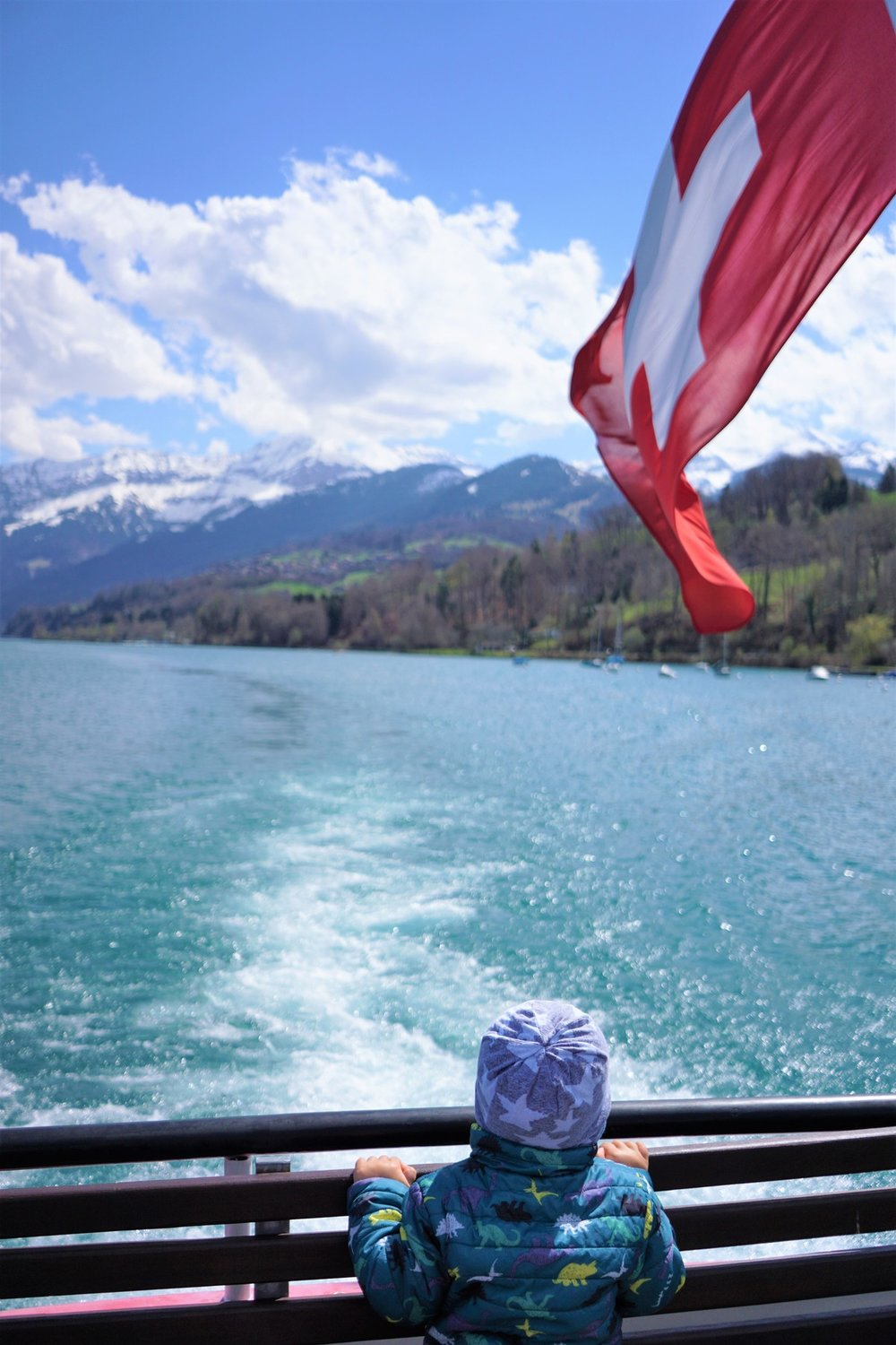 We were able to take this FREE boat from Interlaken to Thun, switzerland.  It was one of the most gorgeous and relazxing things we did.  free with our railpasses!