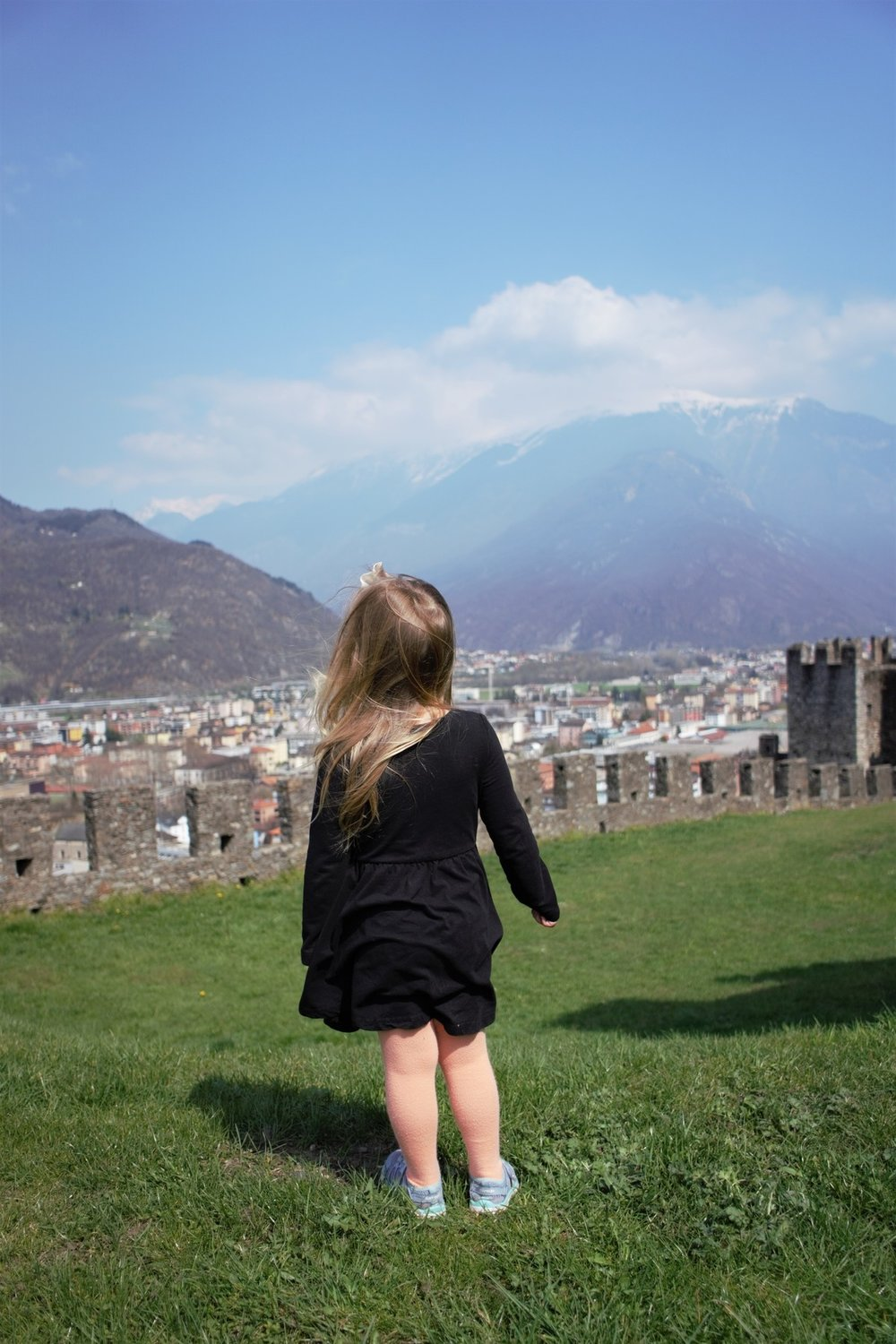 bellinzona, switzerland. We saw 7 Swiss cities and Vaduz with our Swiss Rail Pass.  We paid one price and rode as many times as we needed over the 8 days!