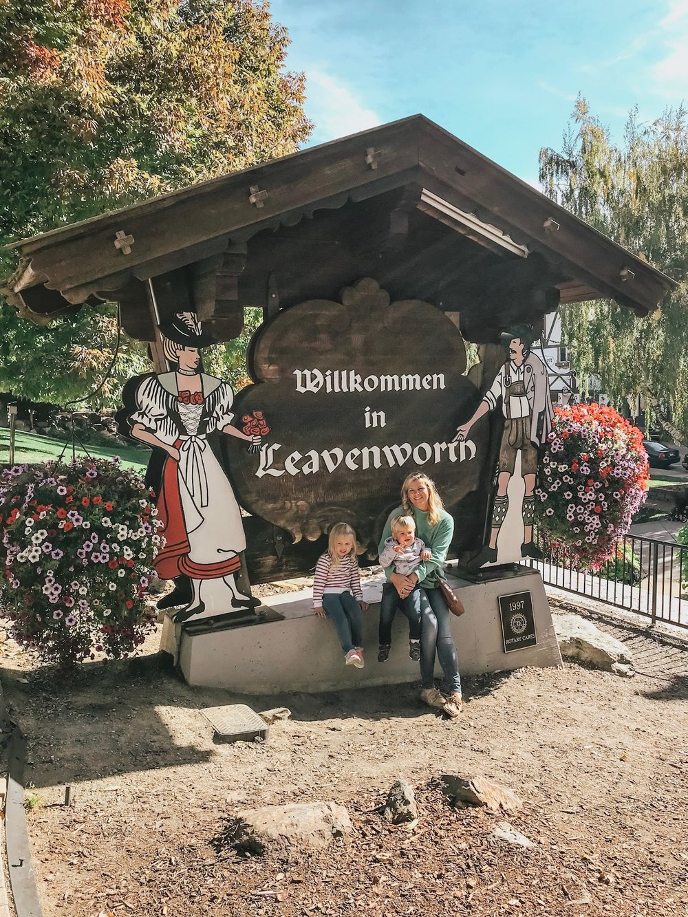 Can't Leave Leavenworth without taking this photo!