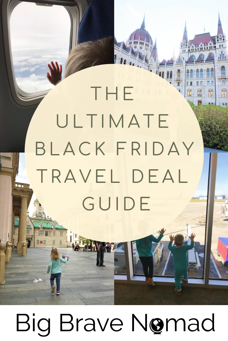 This is a continual list of the best Black Friday and Cyber Monday deals for travel! From flight deals to deeply discounted travel must haves, we have it all right here. Check back as this list will be updated from today through Cyber Tuesday! #familytravel #blackfriday #traveldeals